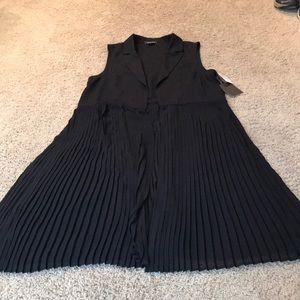 NWT Black vest
